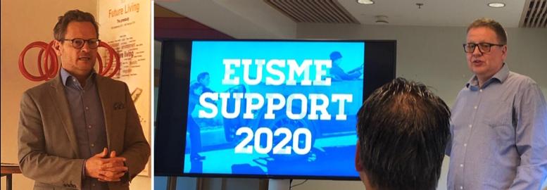 Förra veckan var EU SME Support med som talare i Härnösand och i Lund
