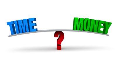 Kan man motfinansiera med egen tid?