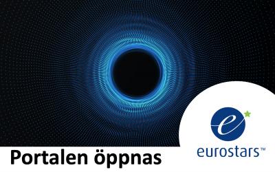 När öppnar Eurostars-portalen?